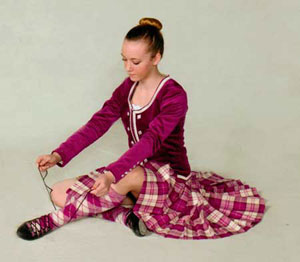 Sponsored Highland Dancer